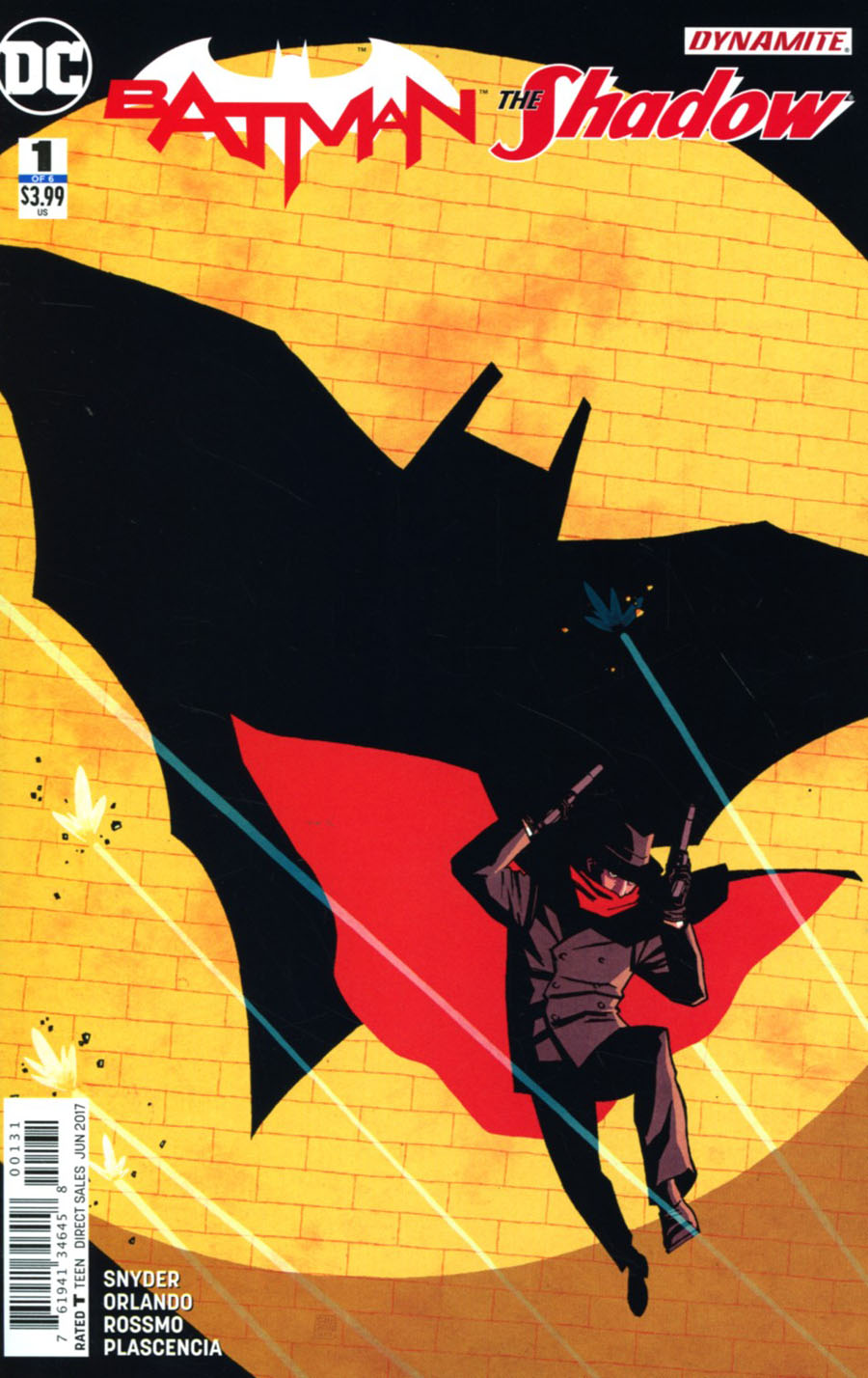 Batman The Shadow #1 Cover C Variant Cliff Chiang Cover