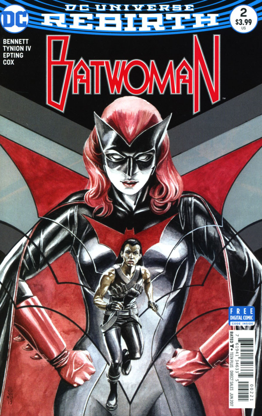 Batwoman Vol 2 #2 Cover B Variant JG Jones Cover