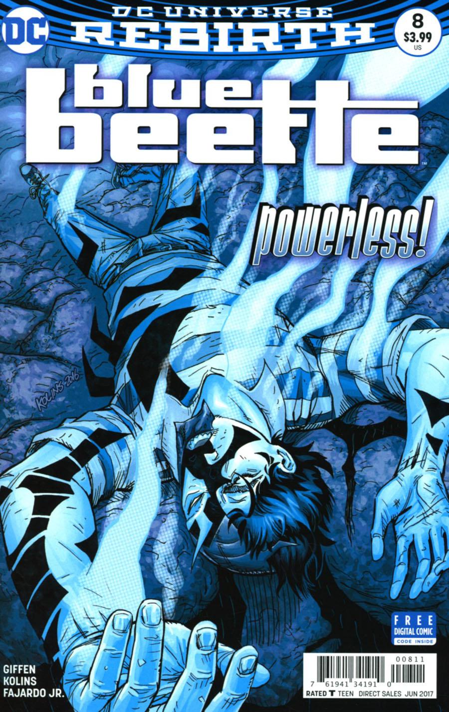 Blue Beetle (DC) Vol 4 #8 Cover A Regular Scott Kolins Cover