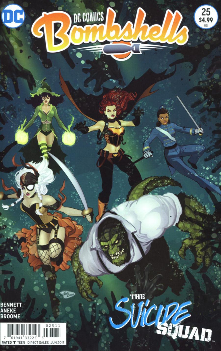 DC Comics Bombshells #25