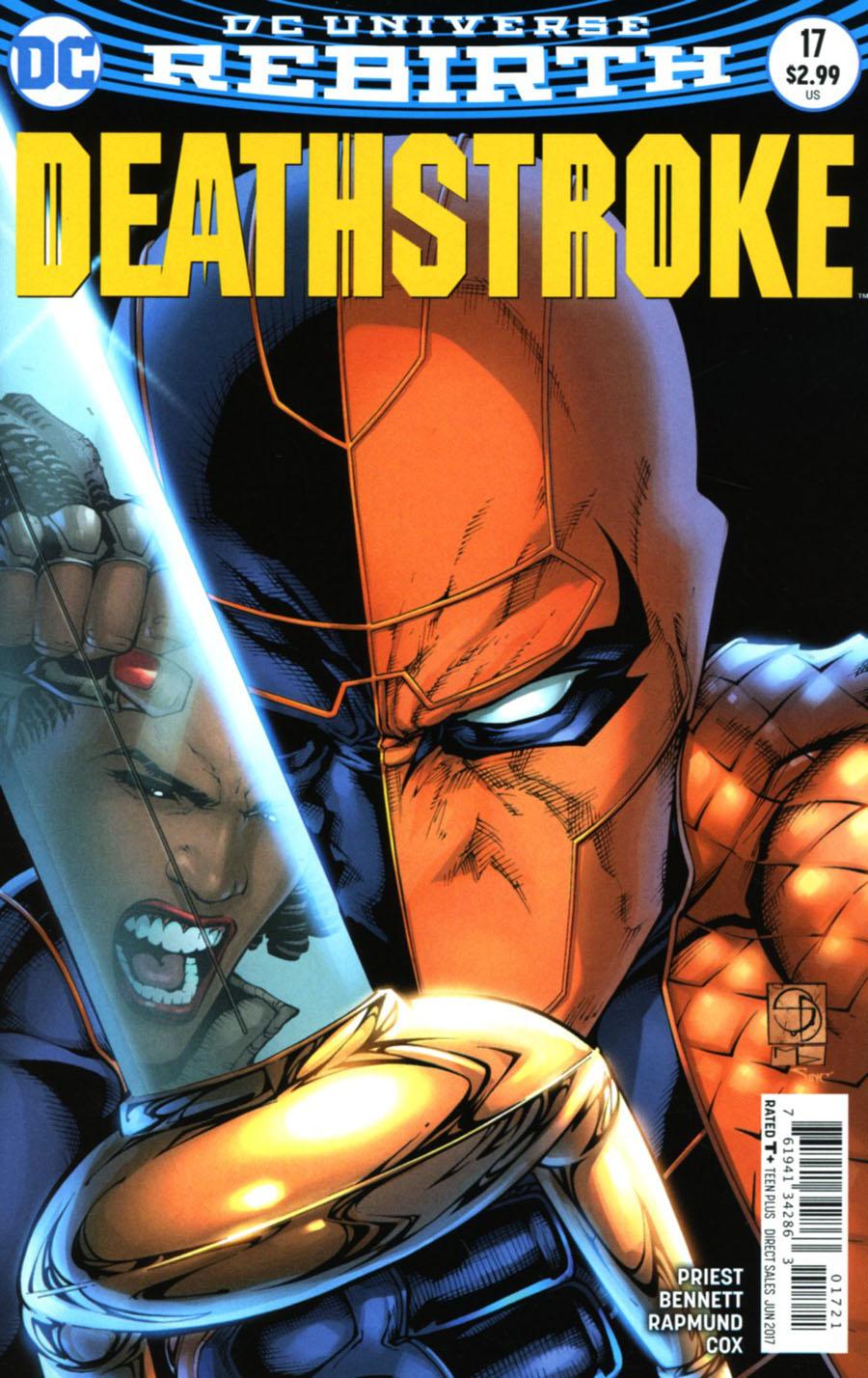 Deathstroke Vol 4 #17 Cover B Variant Shane Davis Cover