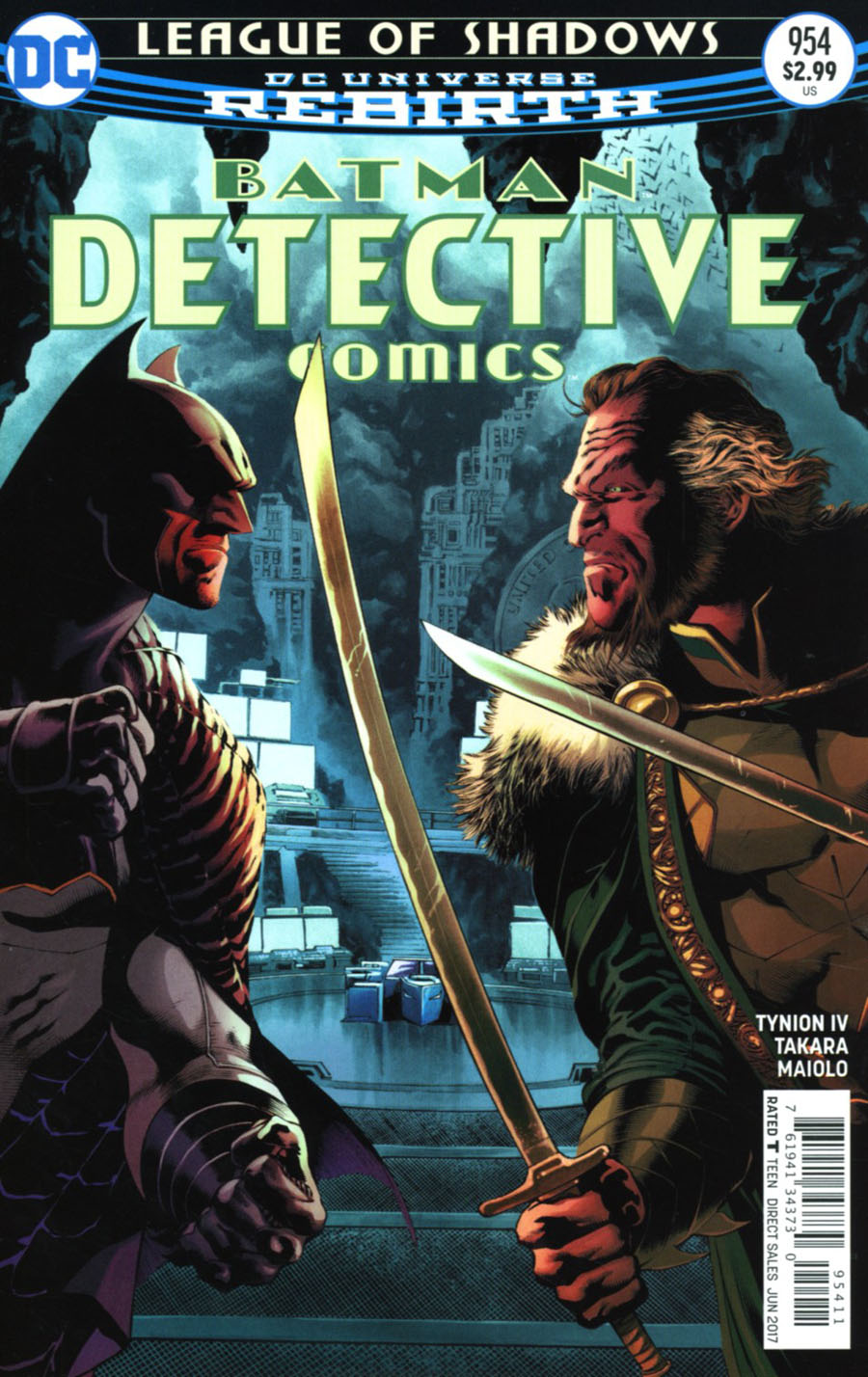 Detective Comics Vol 2 #954 Cover A Regular Eddy Barrows & Eber Ferreira Cover