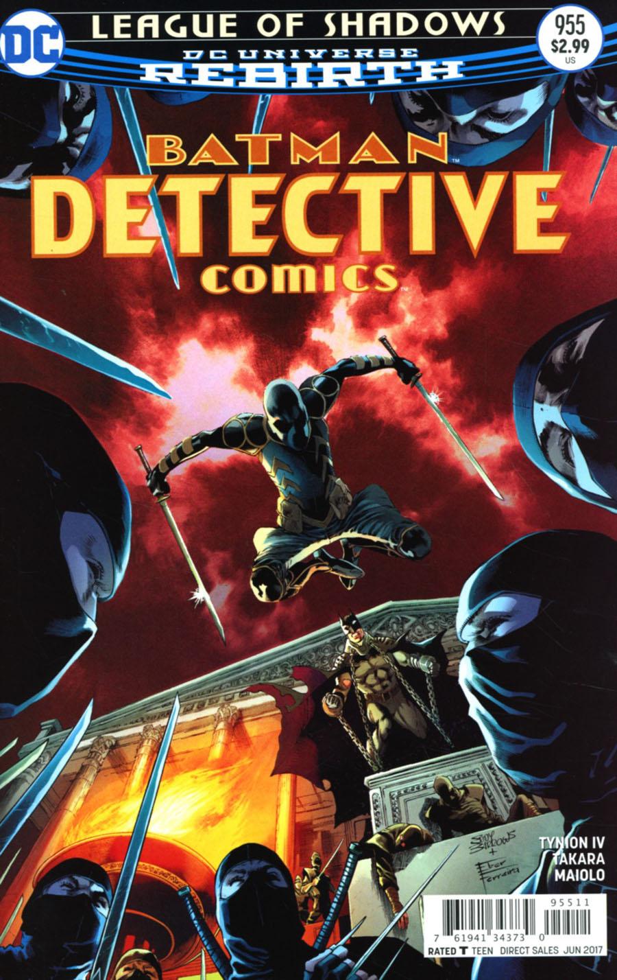 Detective Comics Vol 2 #955 Cover A Regular Eddy Barrows & Eber Ferreira Cover
