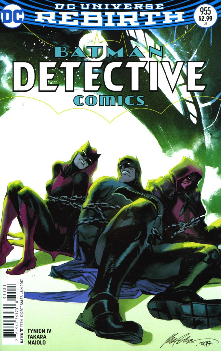 Detective Comics Vol 2 #955 Cover B Variant Rafael Albuquerque Cover