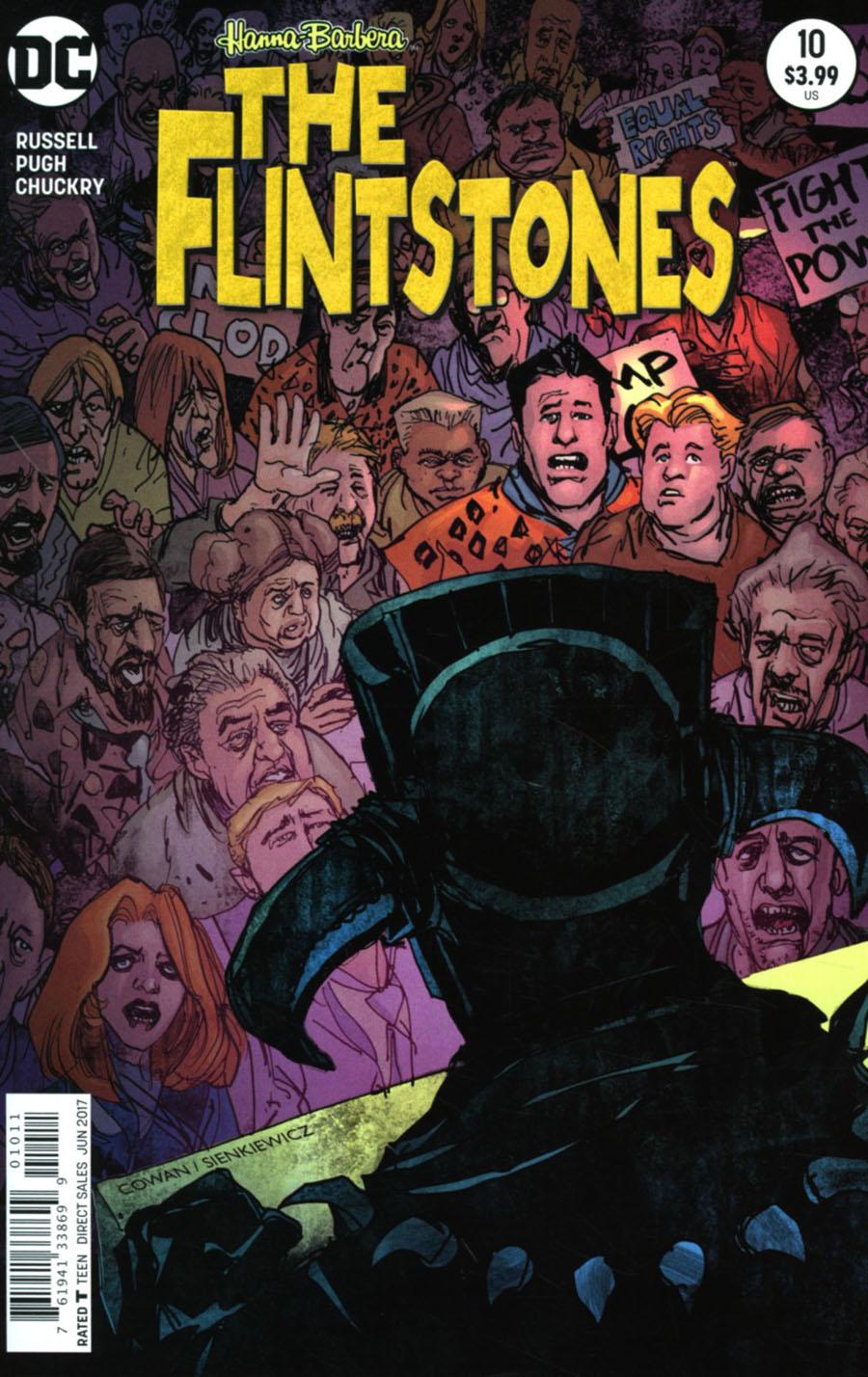 Flintstones (DC) #10 Cover A Regular Denys Cowan & Bill Sienkiewicz Cover