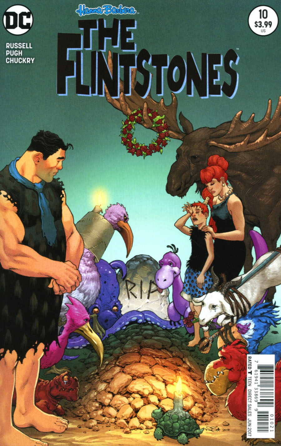 Flintstones (DC) #10 Cover B Variant Nicola Scott Cover
