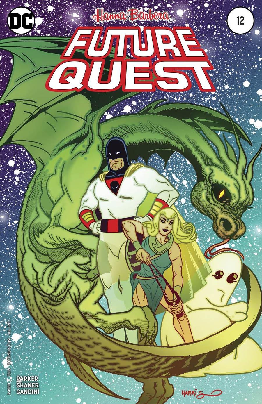 Future Quest #12 Cover B Variant Tony Harris Cover