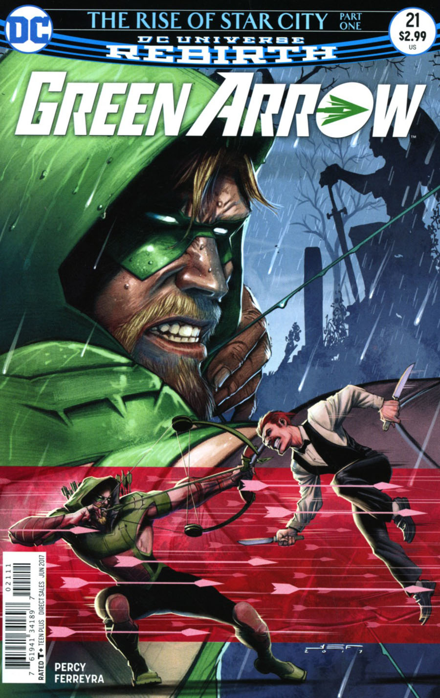 Green Arrow Vol 7 #21 Cover A Regular Juan Ferreyra Cover
