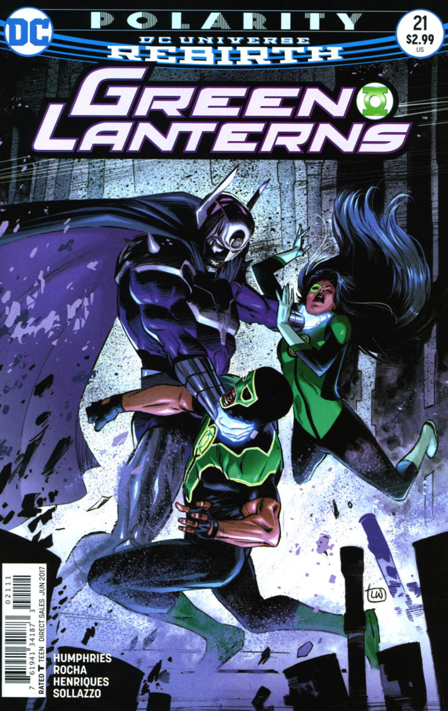 Green Lanterns #21 Cover A Regular Lee Weeks Cover