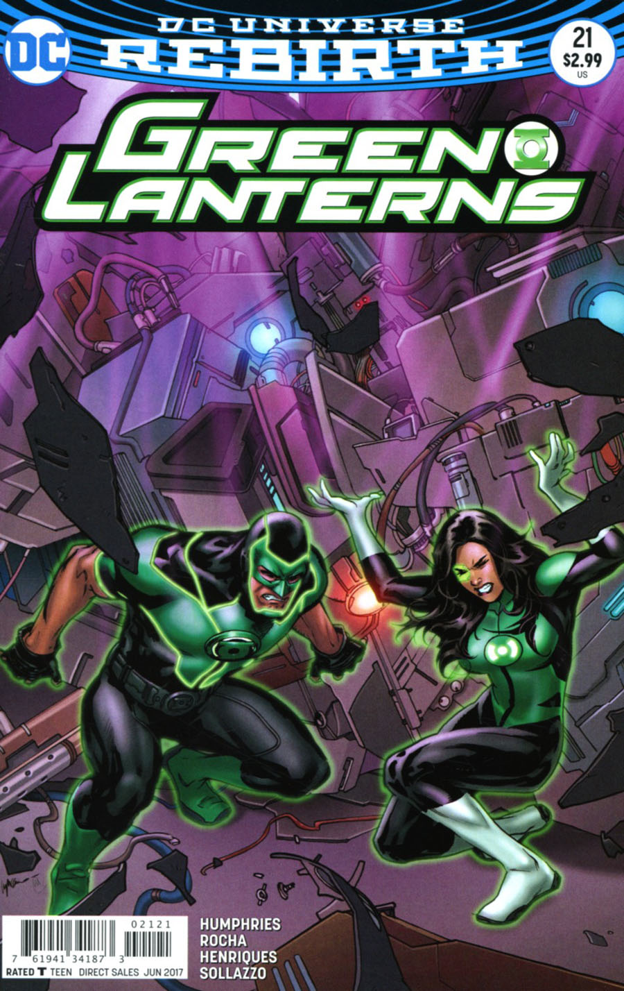 Green Lanterns #21 Cover B Variant Emanuela Lupacchino Cover