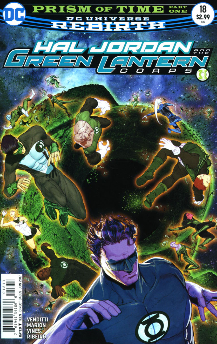Hal Jordan And The Green Lantern Corps #18 Cover A Regular Mikel Janin Cover