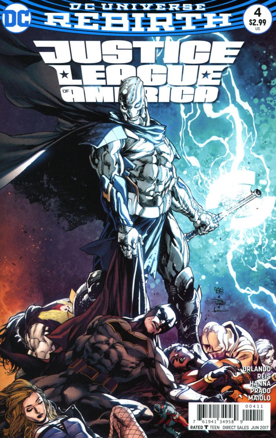 Justice League Of America Vol 5 #4 Cover A Regular Ivan Reis & Joe Prado Cover
