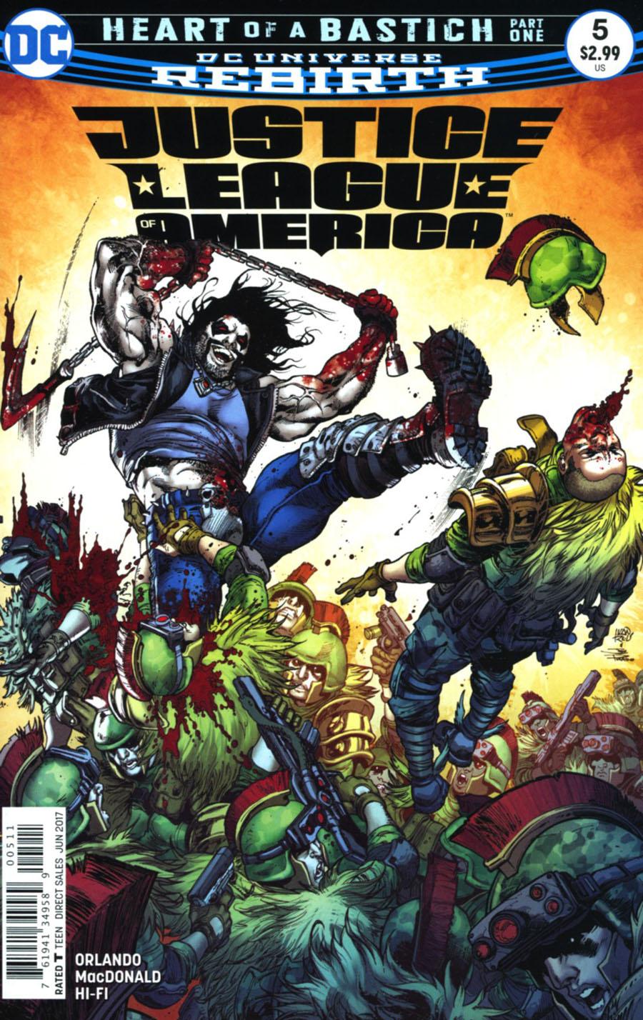 Justice League Of America Vol 5 #5 Cover A Regular Ivan Reis & Joe Prado Cover