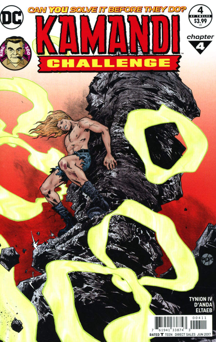 Kamandi Challenge #4 Cover A Regular Paul Pope Cover