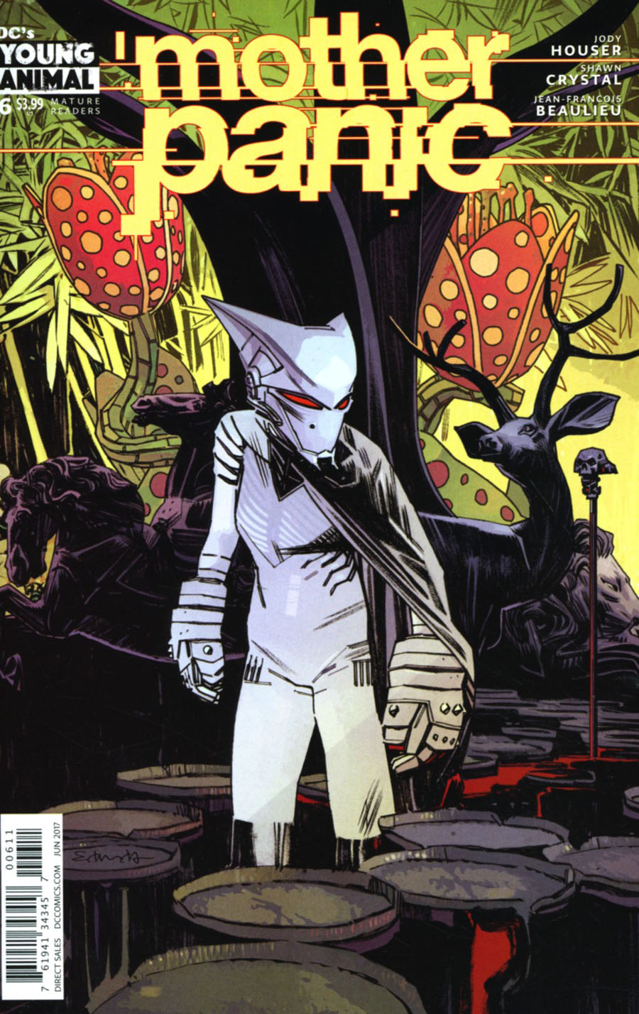 Mother Panic #6 Cover A Regular Tommy Lee Edwards Cover