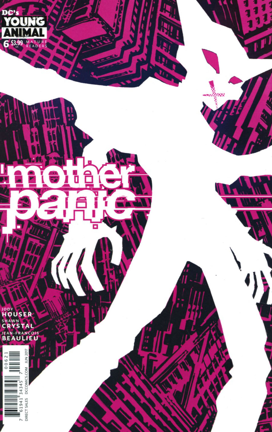 Mother Panic #6 Cover B Variant Eric Canete Cover