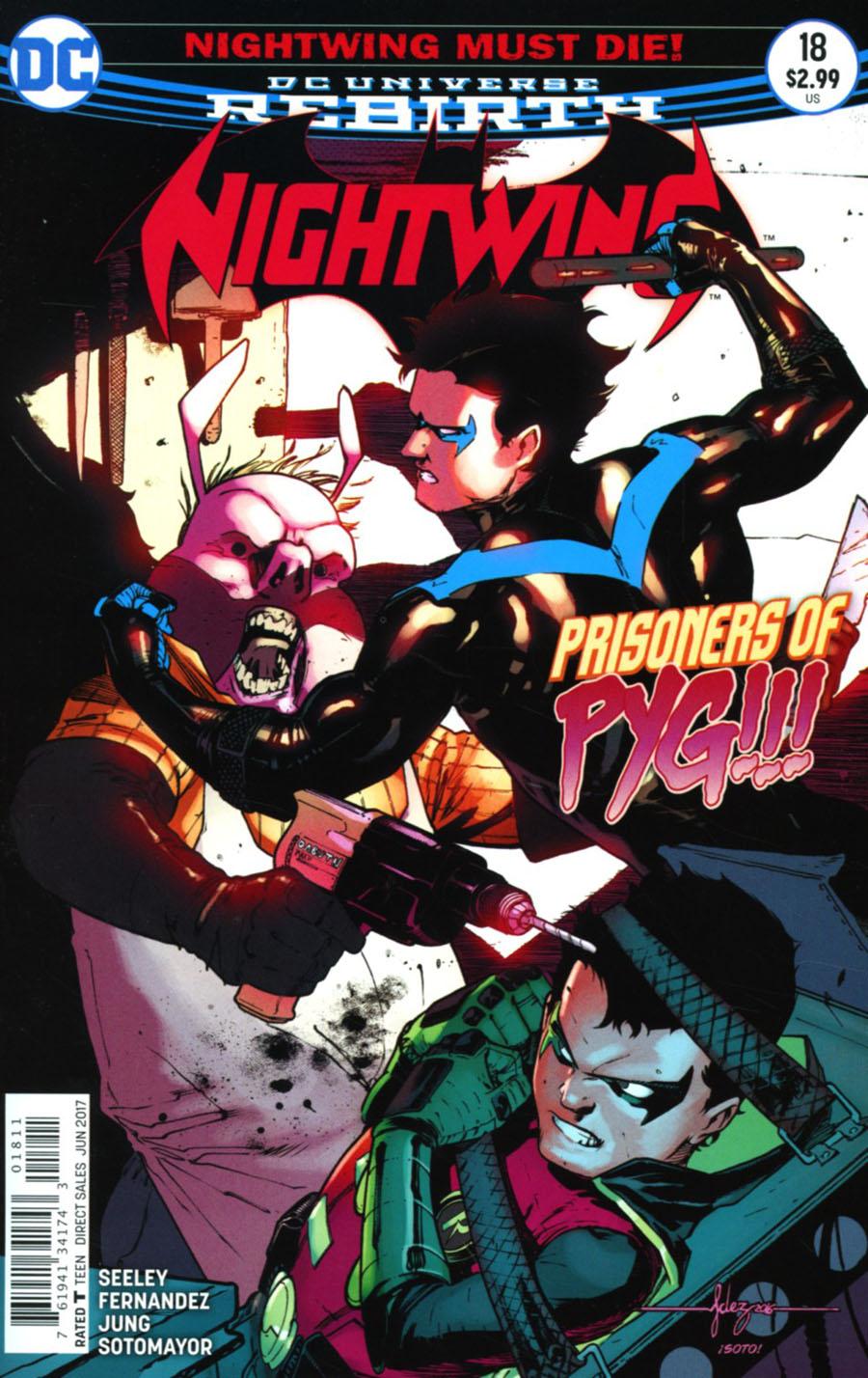 Nightwing Vol 4 #18 Cover A Regular Javier Fernandez Cover