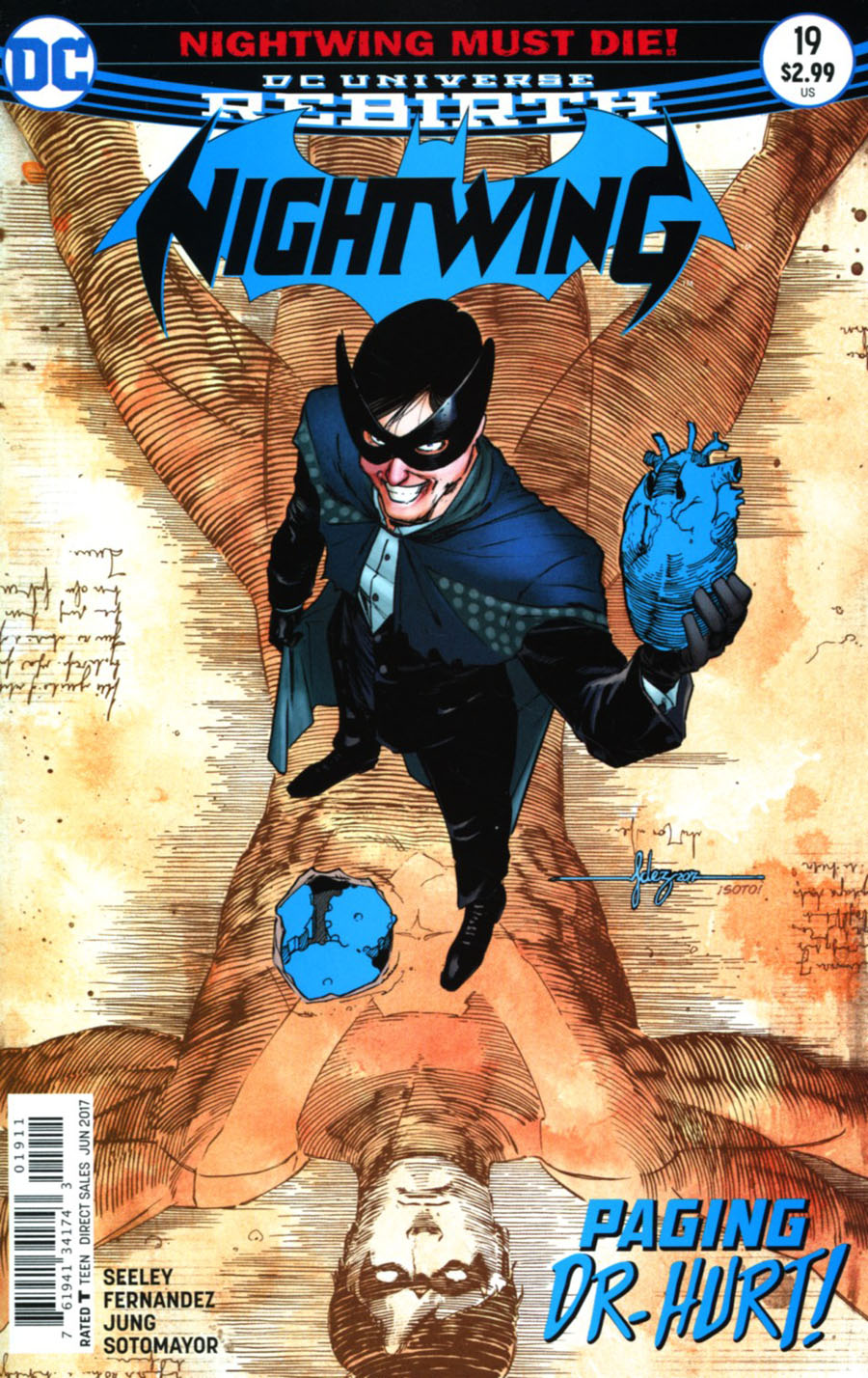 Nightwing Vol 4 #19 Cover A Regular Javier Fernandez Cover