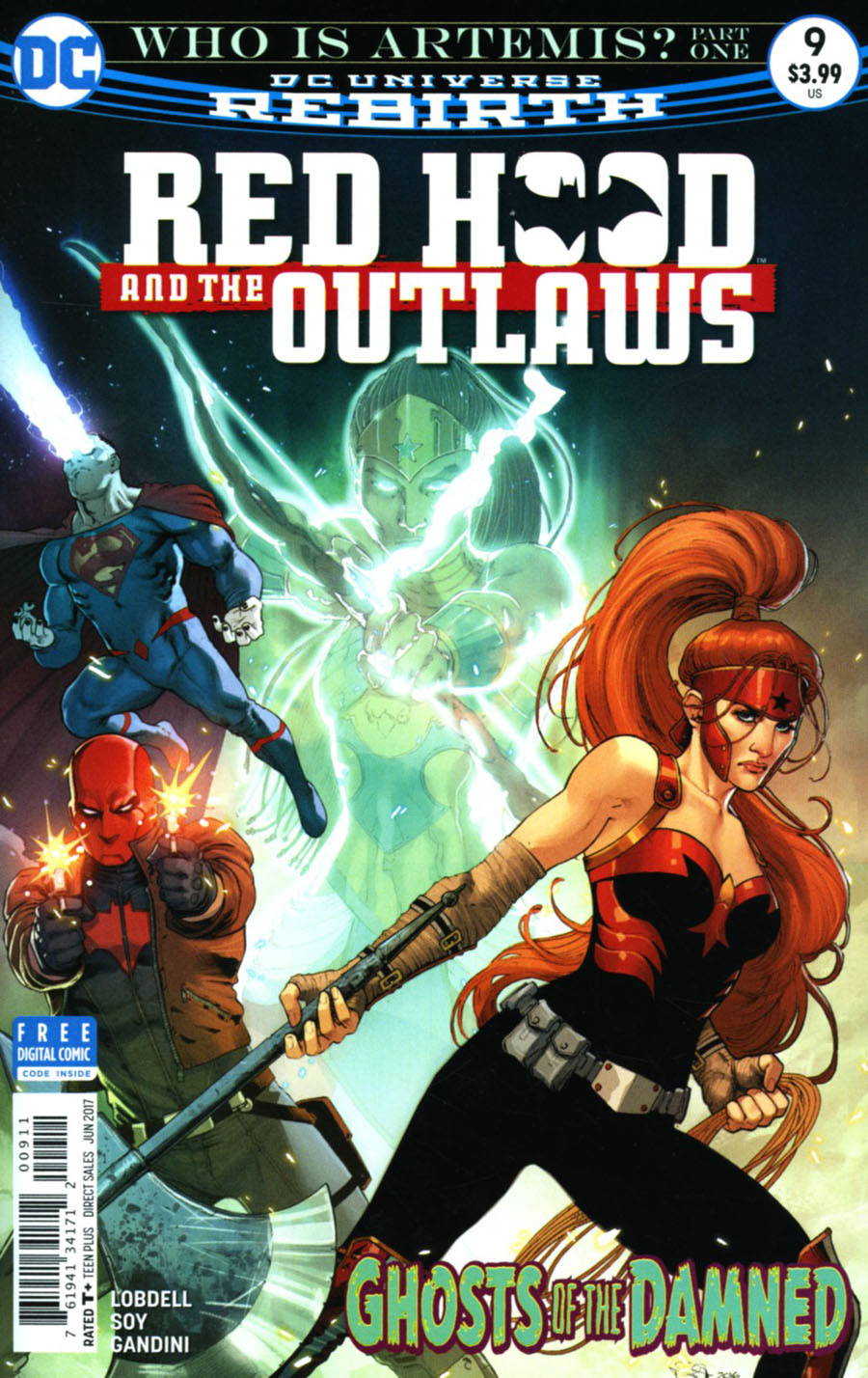 Red Hood And The Outlaws Vol 2 #9 Cover A Regular Nicola Scott Cover