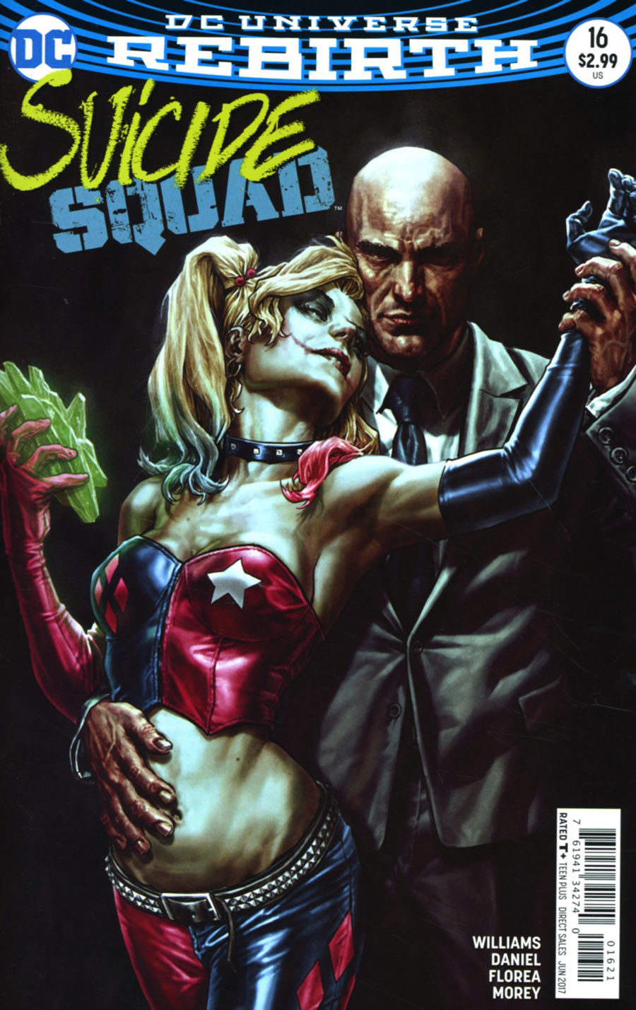 Suicide Squad Vol 4 #16 Cover B Variant Lee Bermejo Cover