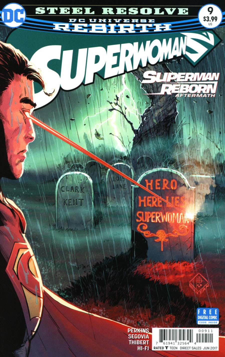 Superwoman #9 Cover A Regular Billy Tan Cover (Superman Reborn Aftermath Tie-In)
