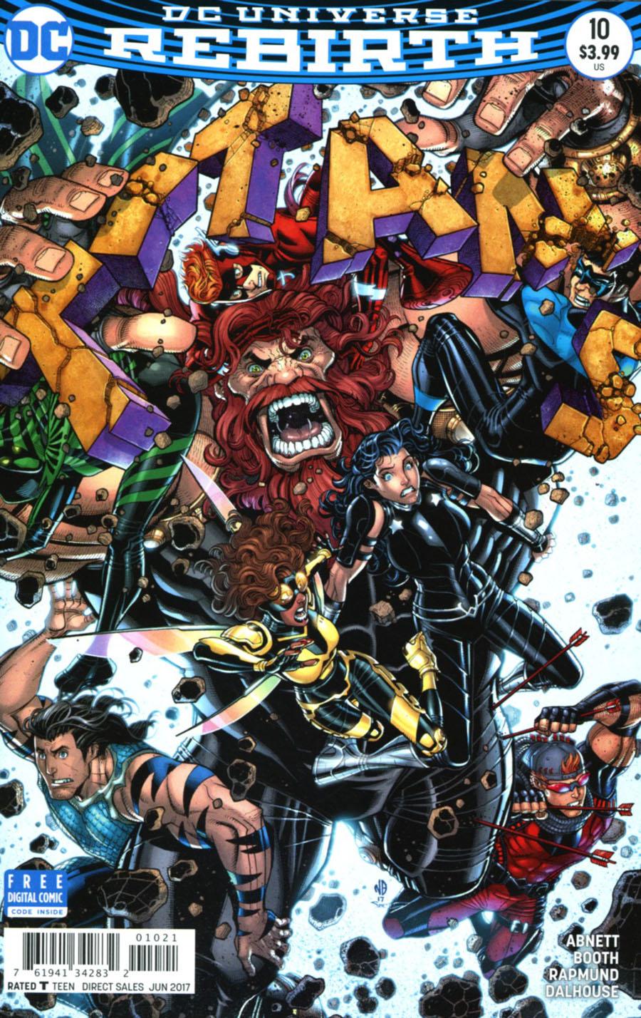 Titans Vol 3 #10 Cover B Variant Nick Bradshaw Cover