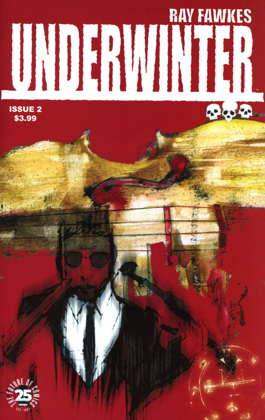 Underwinter #2 Cover A Regular Ray Fawkes Cover