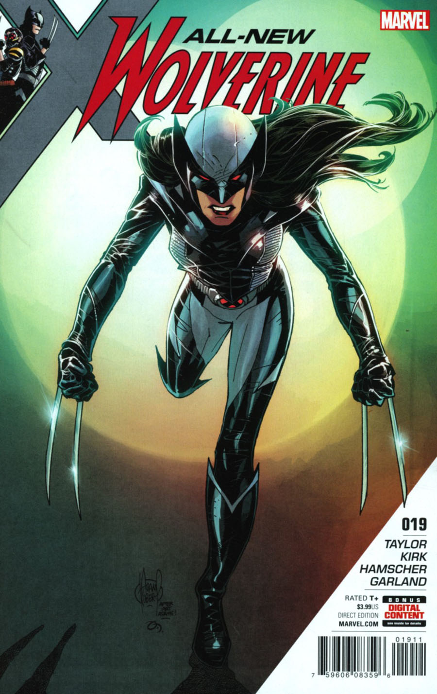 All-New Wolverine #19 Cover A 1st Ptg Regular Adam Kubert Cover (Resurrxion Tie-In)