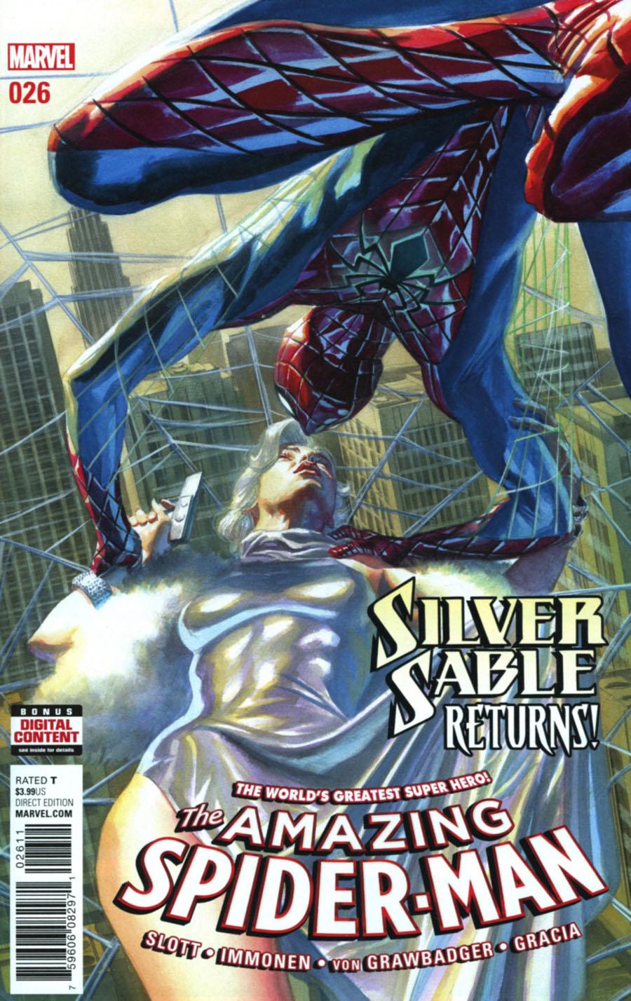 Amazing Spider-Man Vol 4 #26 Cover A Regular Alex Ross Cover