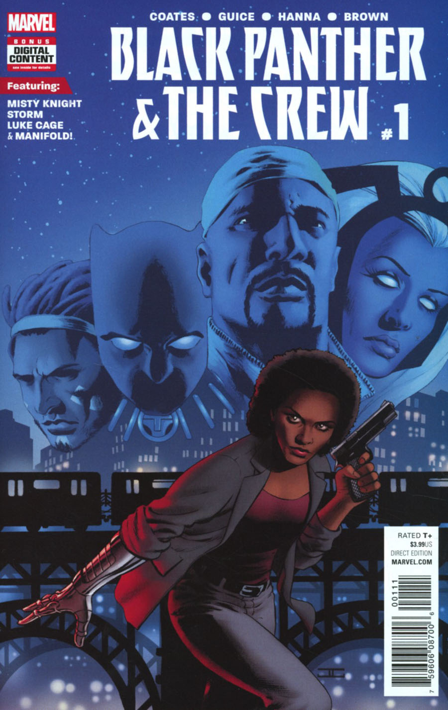 Black Panther And The Crew #1 Cover A Regular John Cassaday Cover