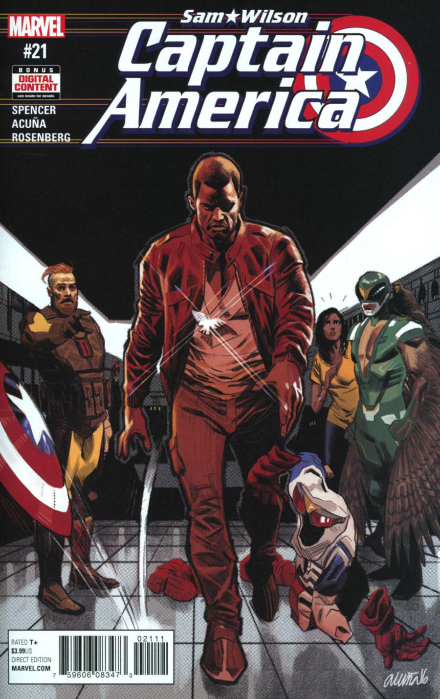 Captain America Sam Wilson #21 Cover A Regular Daniel Acuna Cover