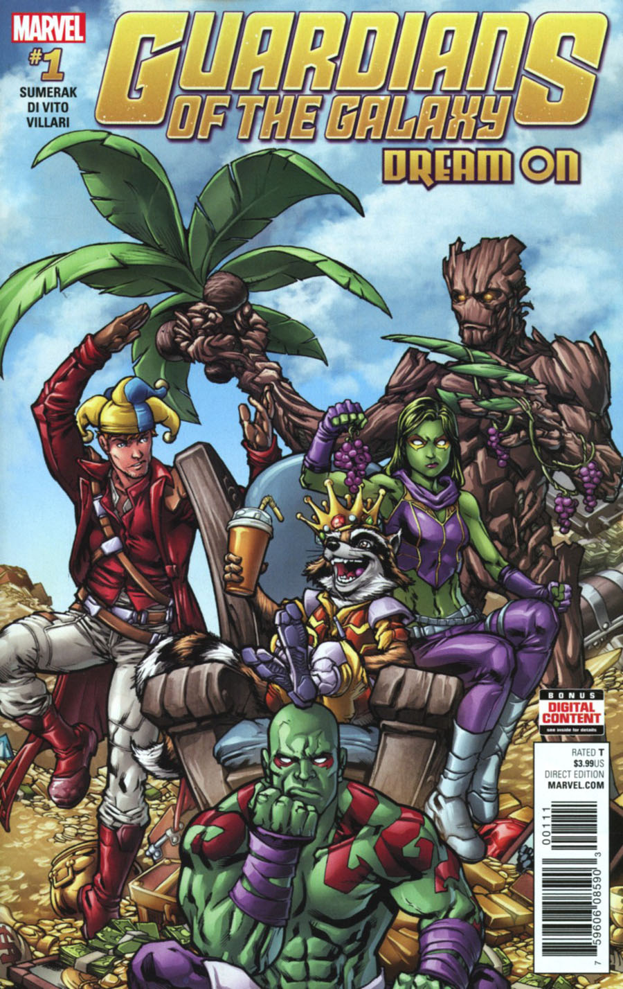 Guardians Of The Galaxy Dream On #1