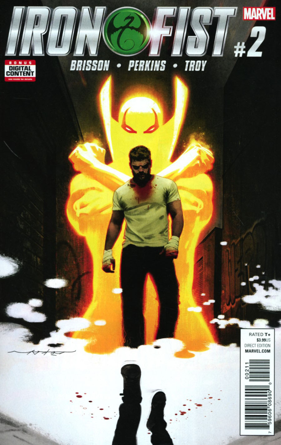Iron Fist Vol 5 #2 Cover A 1st Ptg Regular Jeff Dekal Cover
