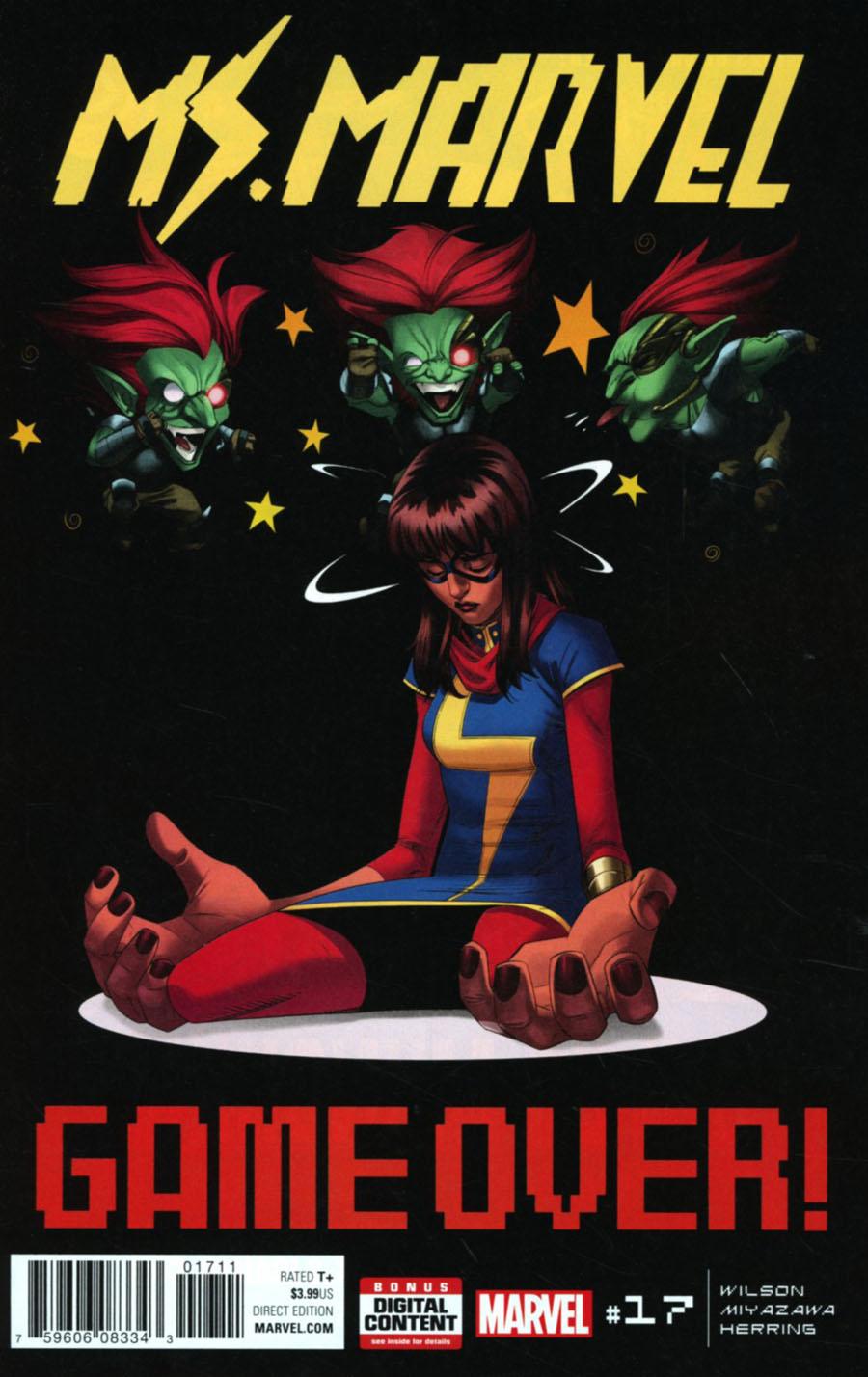 Ms Marvel Vol 4 #17 Cover A Regular Nelson Blake II Cover