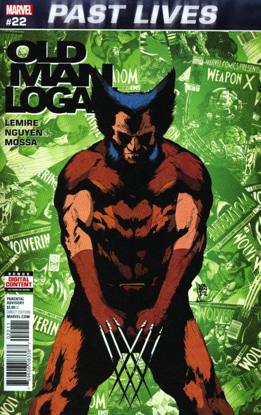 Old Man Logan Vol 2 #22 Cover A 1st Ptg Regular Andrea Sorrentino Cover