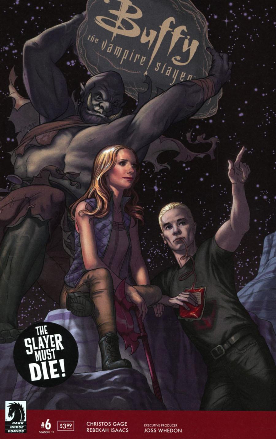 Buffy The Vampire Slayer Season 11 #6 Cover A Regular Steve Morris Cover