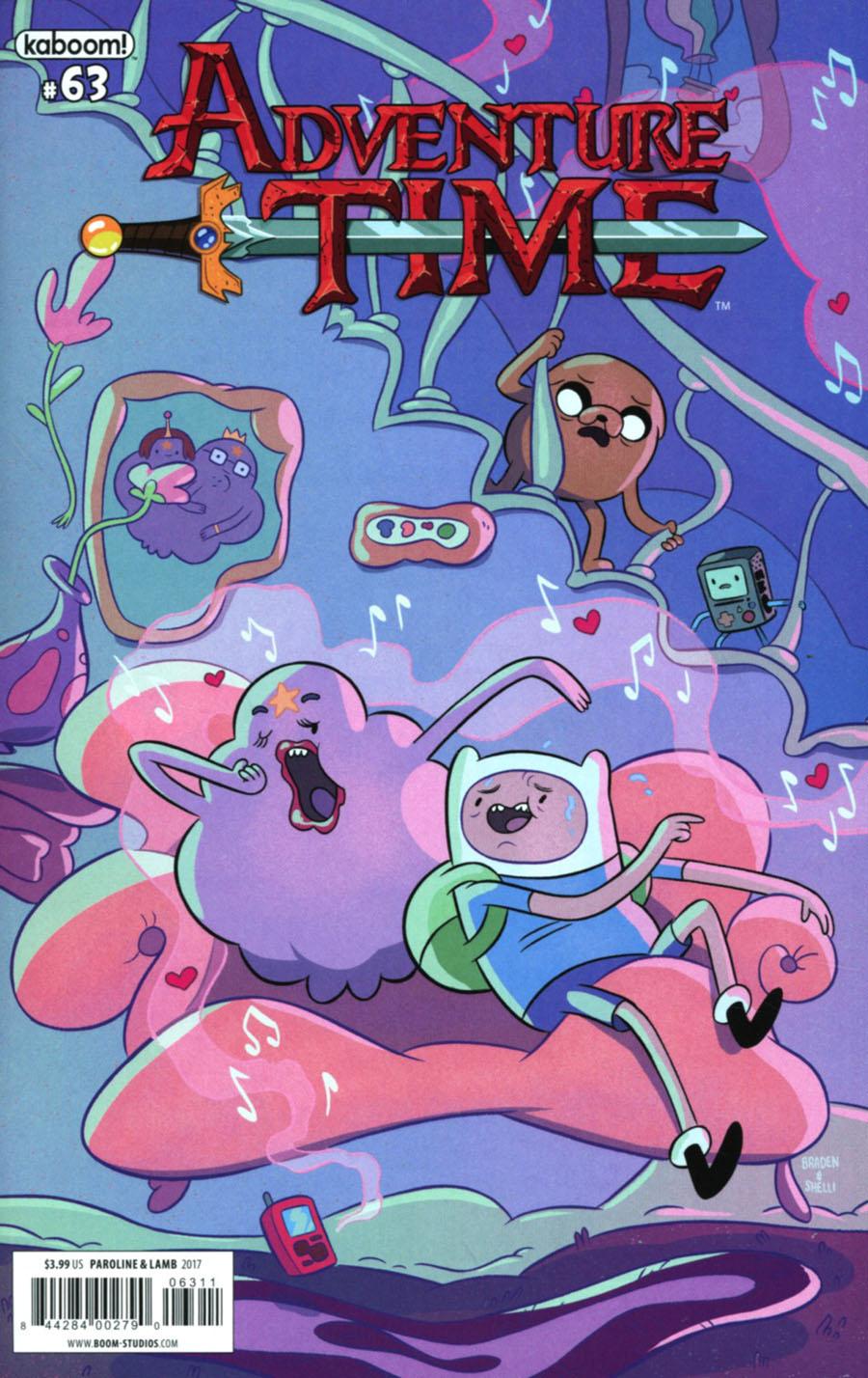 Adventure Time #63 Cover A Regular Shelli Paroline & Braden Lamb Cover