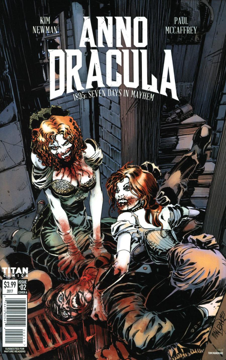Anno Dracula #2 Cover A Regular Tom Mandrake Cover