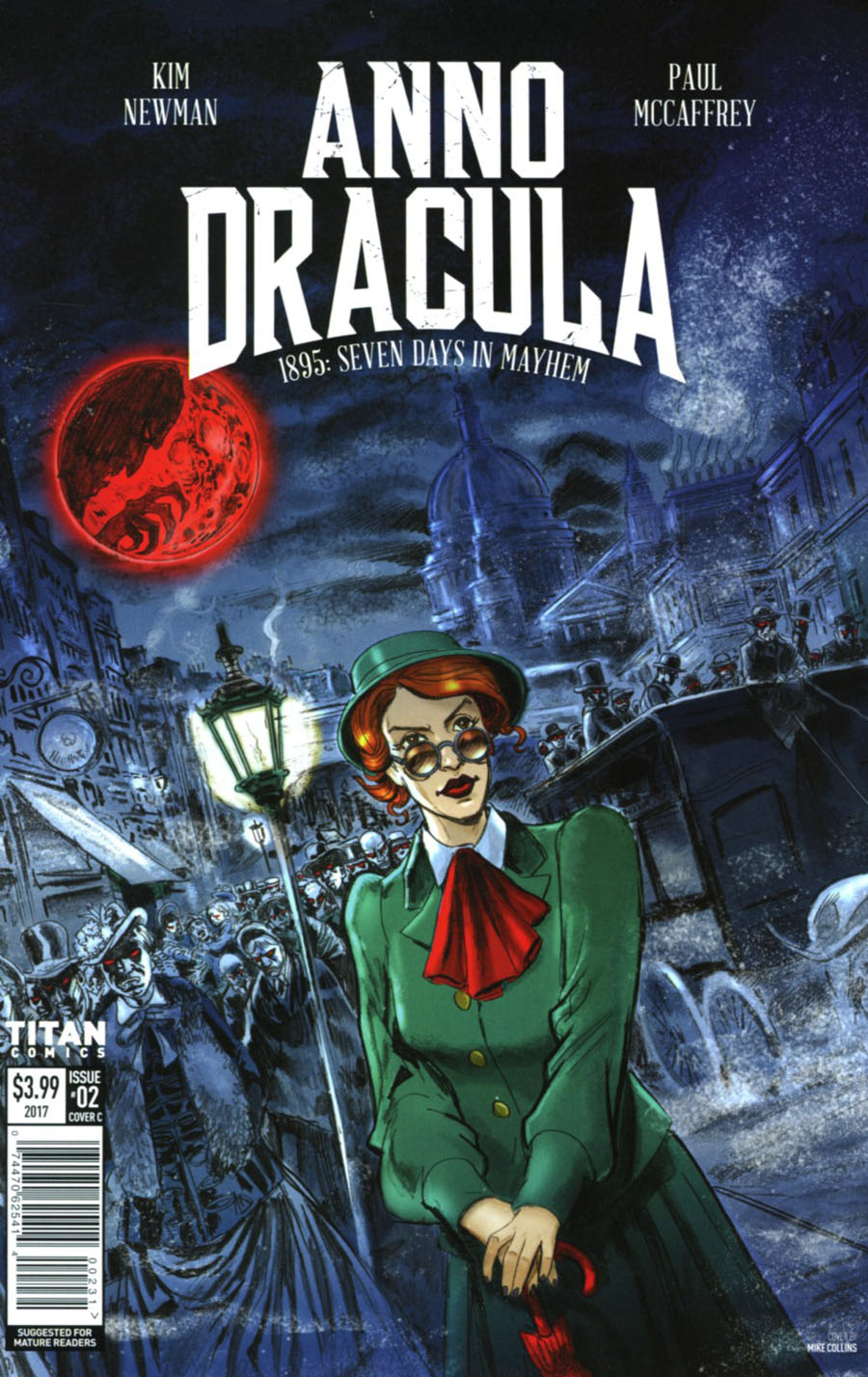 Anno Dracula #2 Cover C Variant Mike Collins Cover