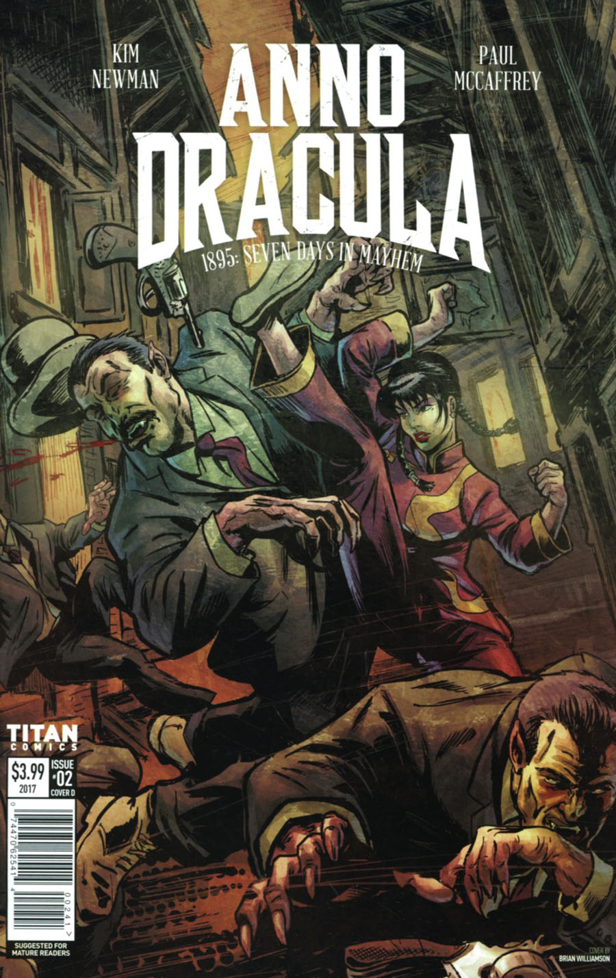 Anno Dracula #2 Cover D Variant Brian Williamson Cover
