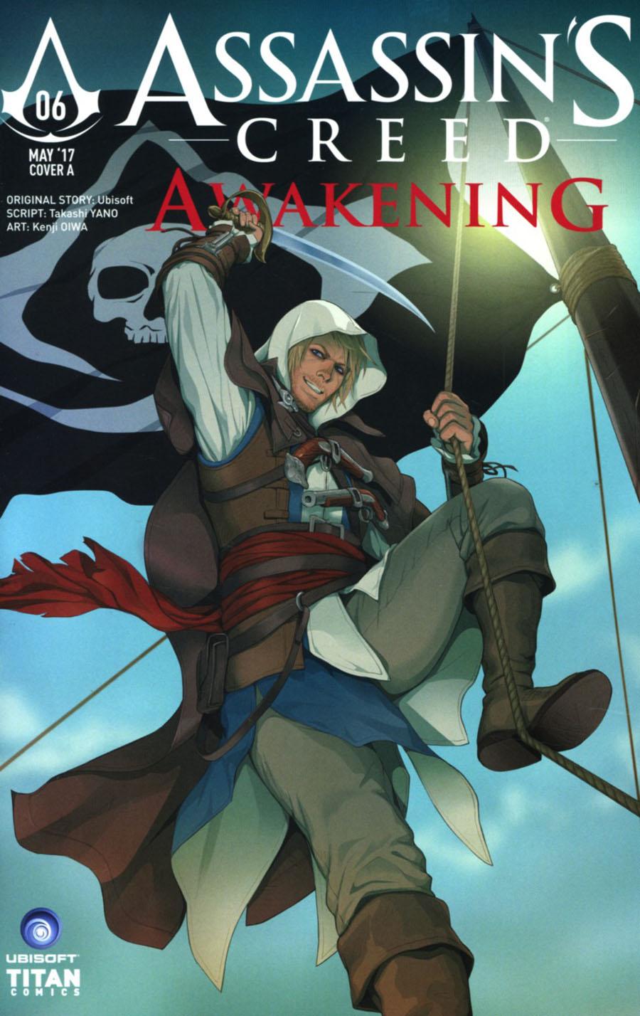 Assassins Creed Awakening #6 Cover A Regular Doubleleaf Cover
