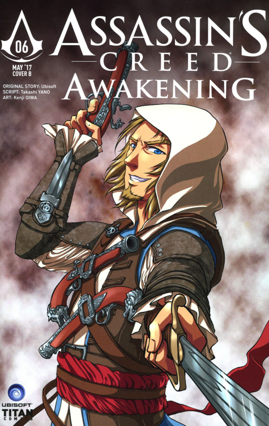 Assassins Creed Awakening #6 Cover B Variant Sonia Leong Cover
