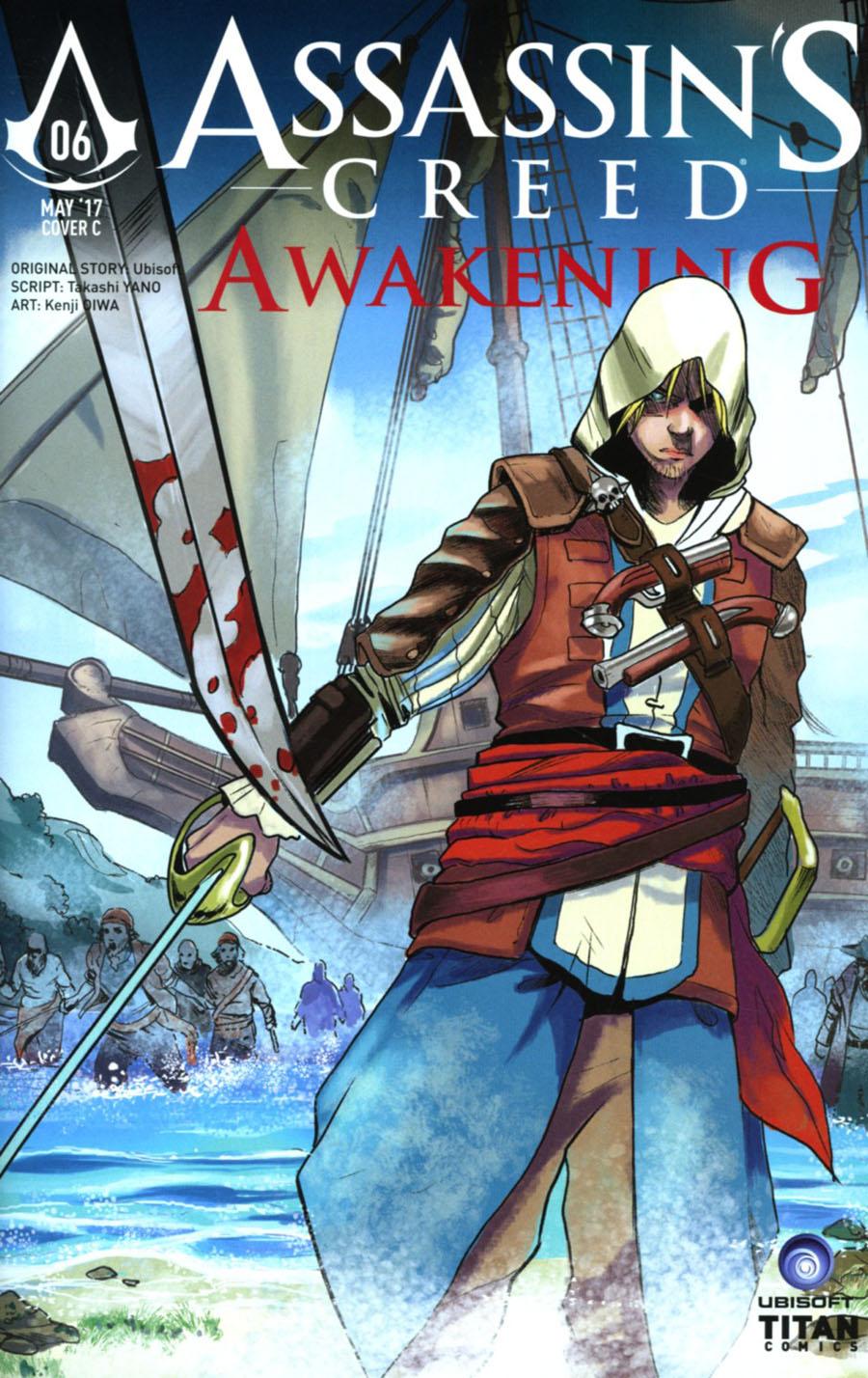 Assassins Creed Awakening #6 Cover C Variant Mauro Mandalari Cover