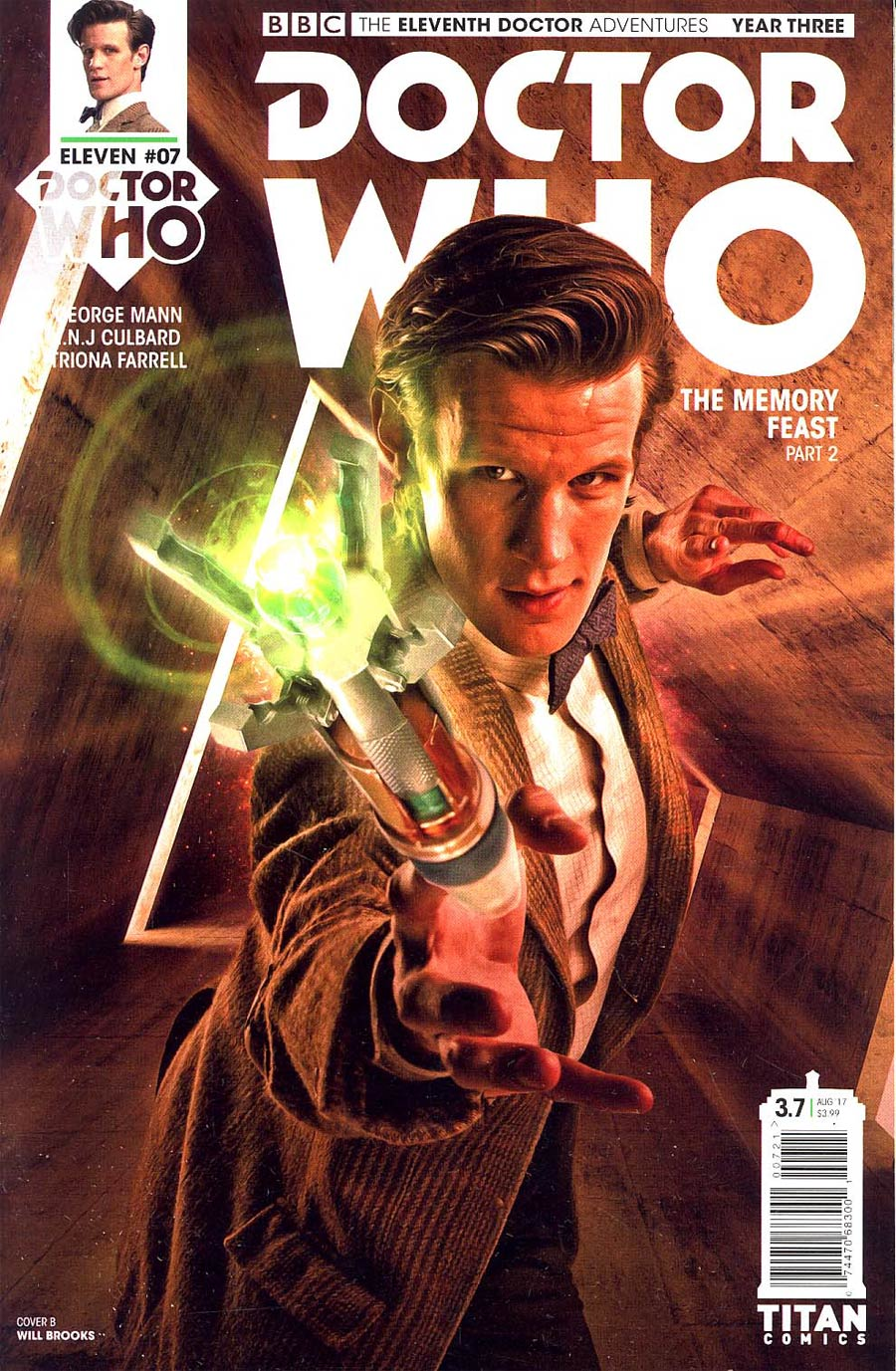Doctor Who 11th Doctor Year Three #7 Cover B Variant Photo Cover