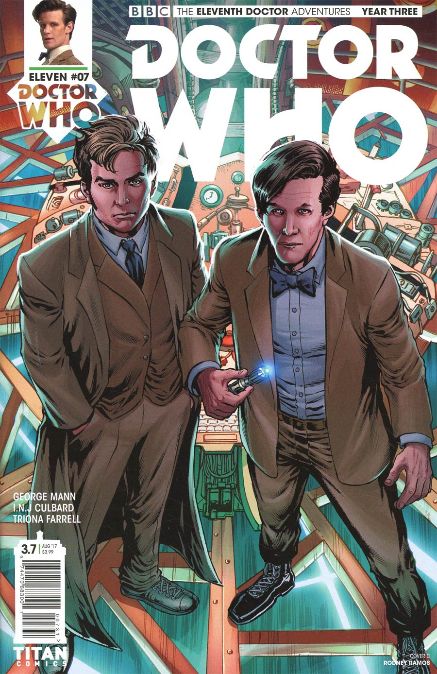 Doctor Who 11th Doctor Year Three #7 Cover C Variant Rodney Ramos Cover