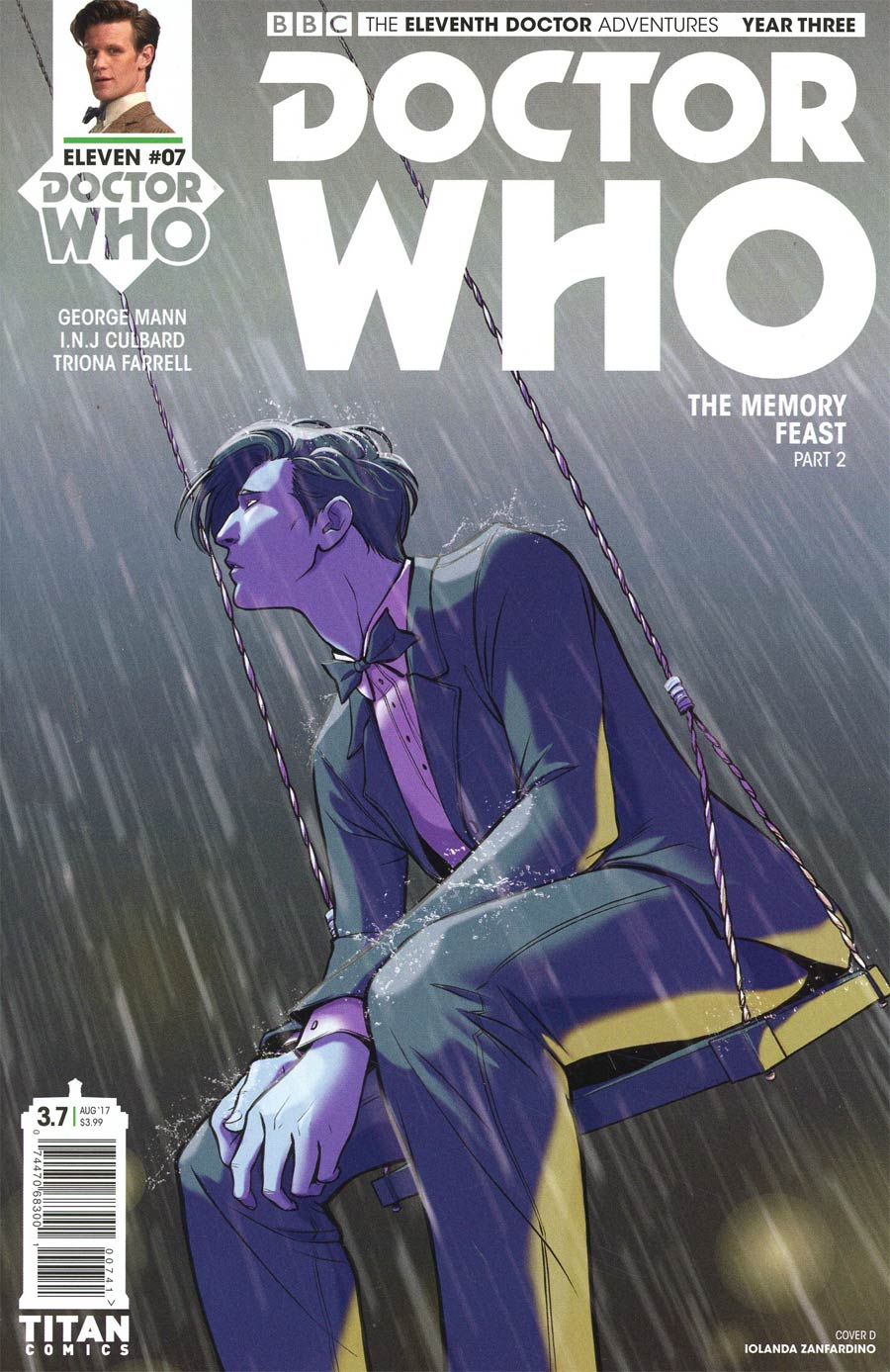 Doctor Who 11th Doctor Year Three #7 Cover D Variant Iolanda Zanfardino Cover