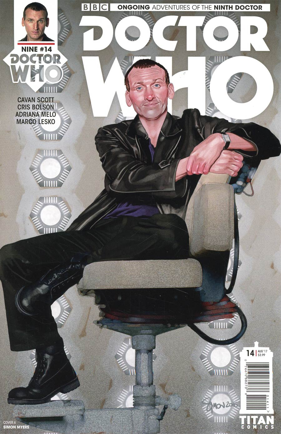 Doctor Who 9th Doctor Vol 2 #14 Cover A Regular Simon Myers Cover