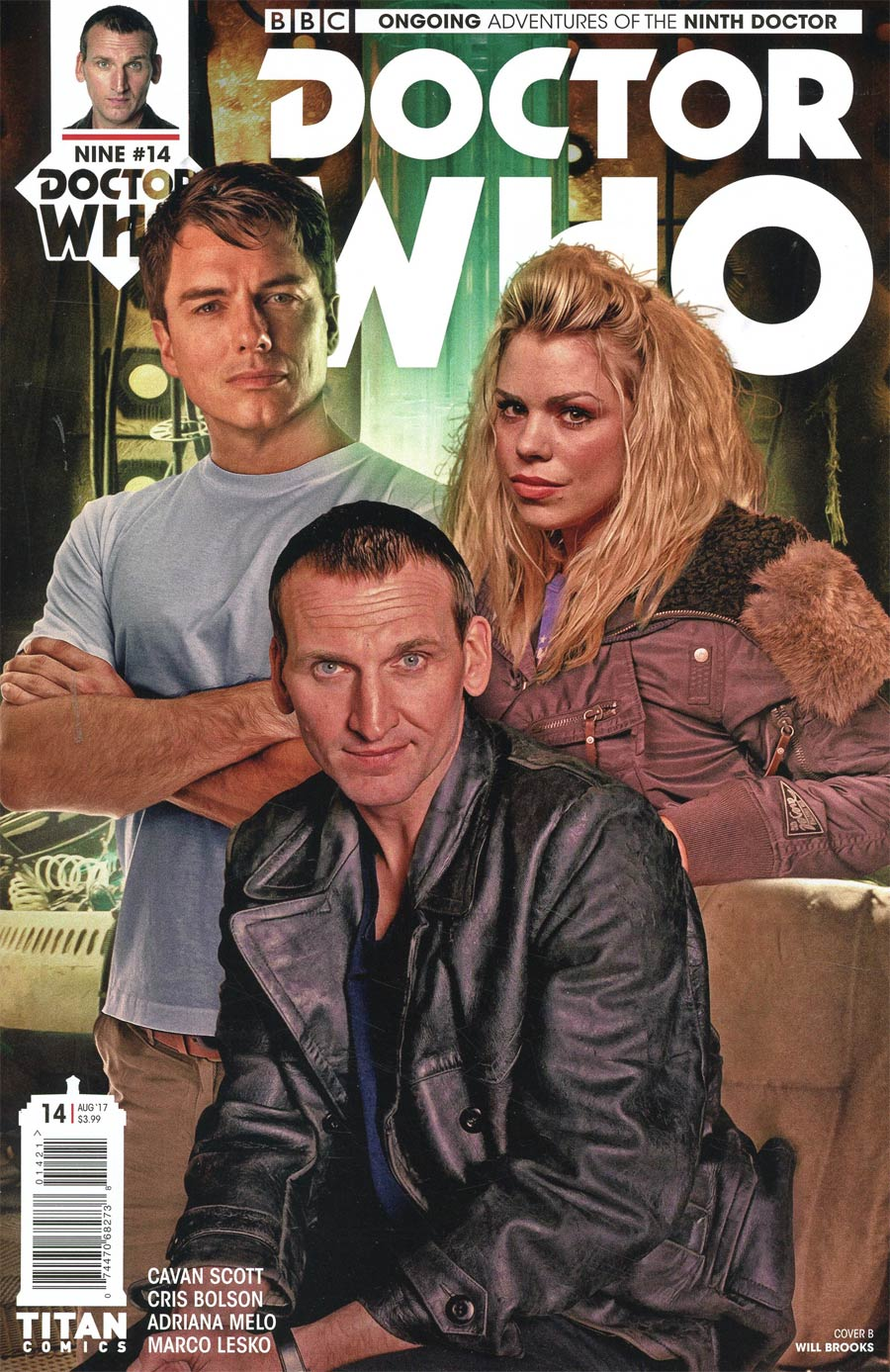 Doctor Who 9th Doctor Vol 2 #14 Cover B Variant Photo Cover