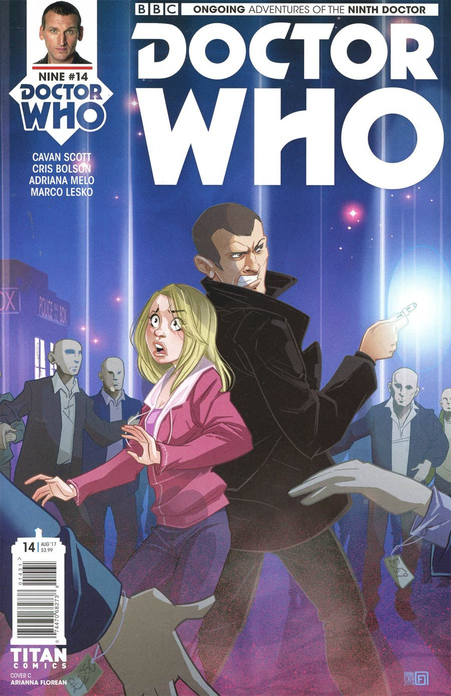 Doctor Who 9th Doctor Vol 2 #14 Cover C Variant Arianna Florean Cover