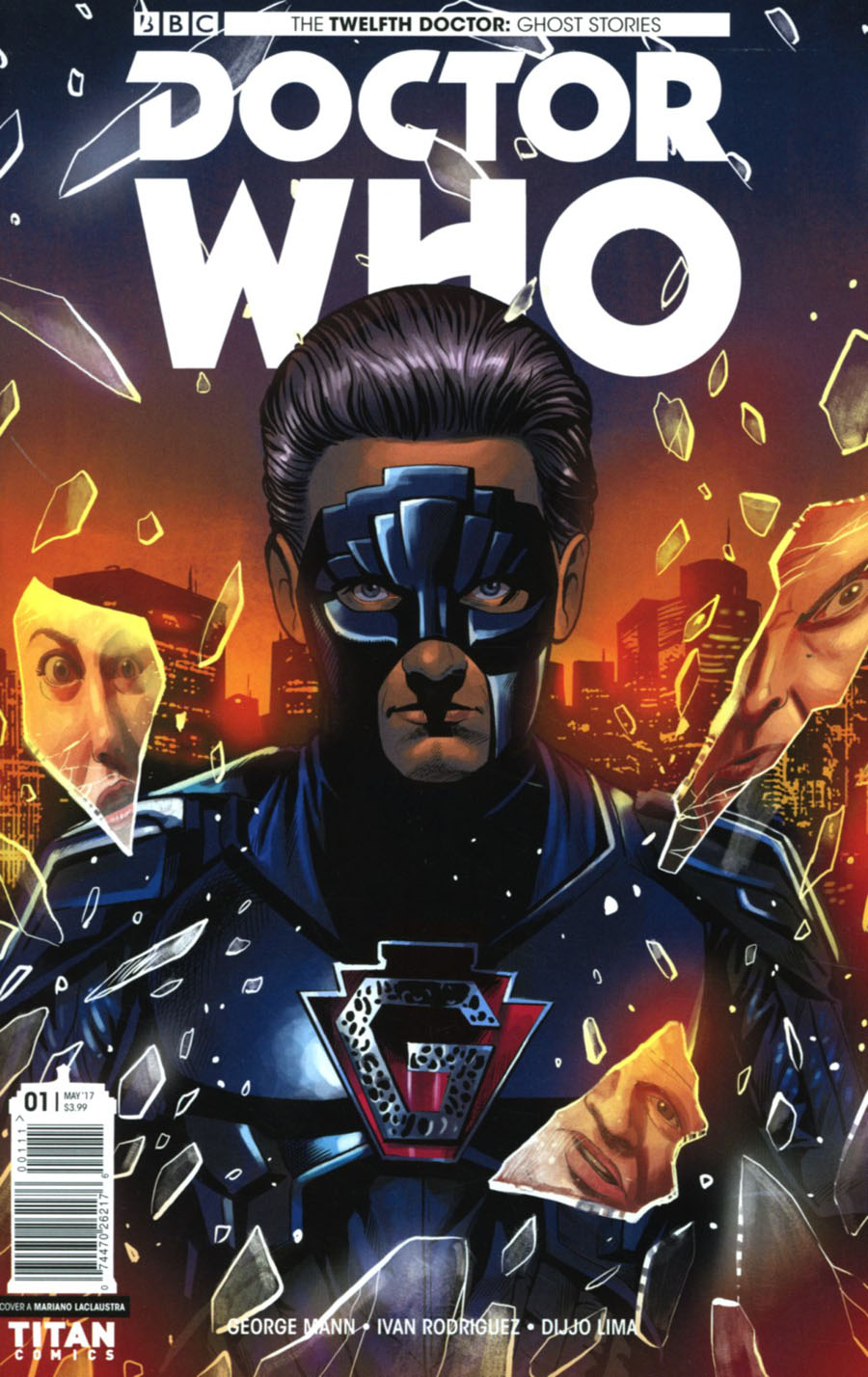 Doctor Who Ghost Stories #1 Cover A Regular Mariano Laclaustra Cover
